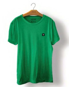 Camiseta Osklen Big Shirt Xilo Coroa Masculina Verde