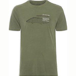 Camiseta Osklen Regular Vintage Pirarucu Live Masculina