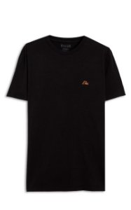 Camiseta Ellus Fine Aquarela Classic Masculina Preta