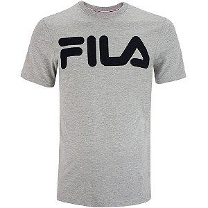 Camiseta Fila Manga Curta Letter II Masculina Cinza
