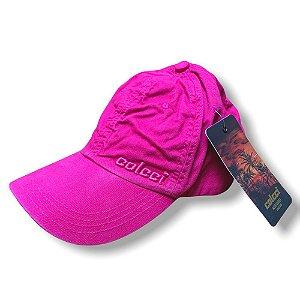 Boné Colcci Unissex Básico Bordado Rosa Pink