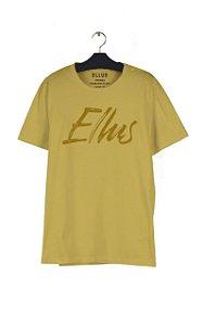 Camiseta Ellus Fine Manual Classic Masculina Amarela