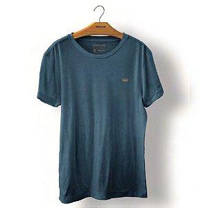 Camiseta Osklen Stone Coroa Colors Masculina Índigo
