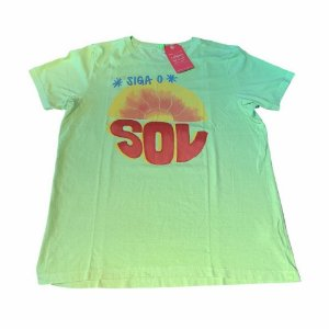T-shirt Média Farm Siga O Sol