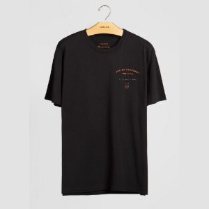 Camiseta T-shirt Osklen Vintage Regular Orange Board Masculina