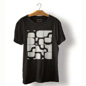 Camiseta Osklen Vintage Ipanema Modular Masculina Preta