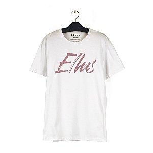Camiseta Ellus Fine Manual Classic Masculina Branca