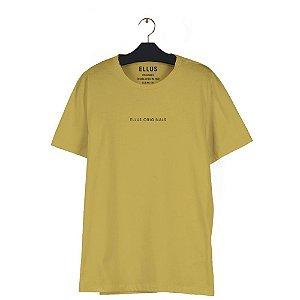 Camiseta Ellus Fine Light Classic Masculina Amarela