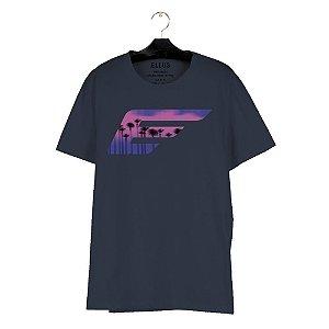 Camiseta Ellus Cotton Santorini Classic Masculina Marinho