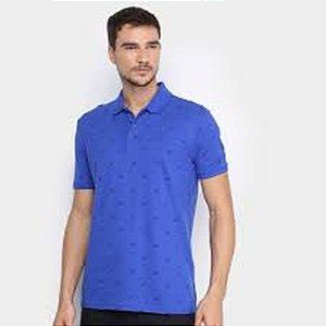 Camisa Polo Ellus Easa All Over Classic Masculina Azul