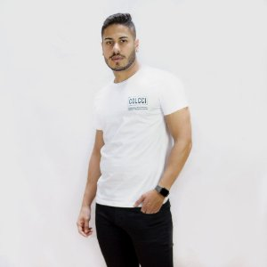 Camiseta Colcci By Colcci Basic Masculina Branca