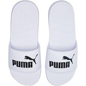 Chinelo Puma Slide Popcat 20 Bdp Masculino Branco