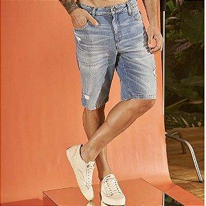 Bermuda Colcci Jeans Noah Masculina Índigo
