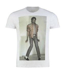 CAMISETA ELLUS BEAT IT MICHAEL JACKSON MASCULINA