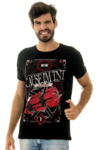 CAMISETA MASCULINA TNT Red Feather