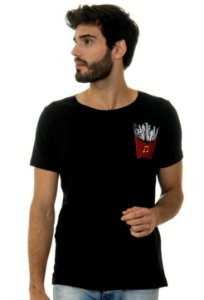 CAMISETA MASCULINA FED BY MUSIC