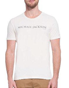 CAMISETA ELLUS VINTAGE MICHAEL JACKSON CLASSIC - OFF WHITE
