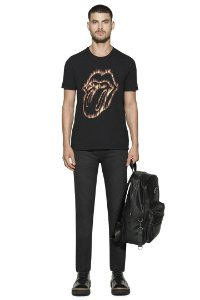 CAMISETA MOUTH FLAME ROLLING STONES ELLUS MASCULINA