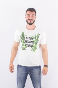 CAMISETA ELLUS CO BASIC ESF LEAVES MC