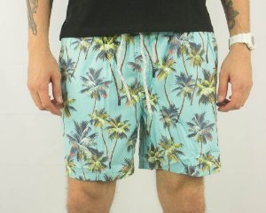 SHORT MASCULINO COTTON NYLON FLORAL 1 JAB