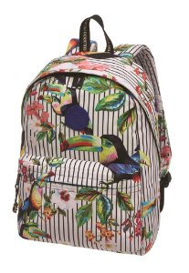 MOCHILA FARM XODO DELICADEZA NATURAL ESTAMPADA