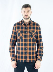 CAMISA ELLUS XADREZ GEAR LIGHT WOOL TOUCH 50 CLASSIC MASCU