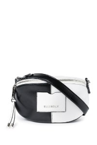 SHOULDER BAG ROCK ELLUS PRETO/BRANCA