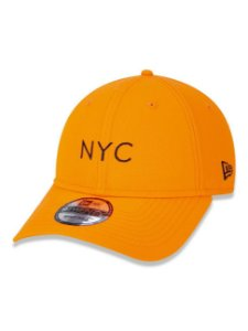 BONÉ NEW ERA FLUOR 9TWENTY SIMPLE NYC LARANJA