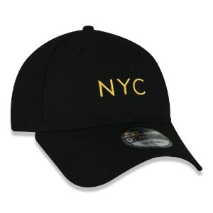 BONÉ NEW ERA 9TWENTY SIMPLE SIGNATURE FLUOR NYC LARANJA