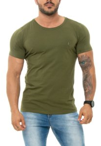 CAMISETA RED FEATHER BÁSICA MASCULINA VERDE