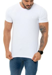 CAMISETA RED FEATHER BÁSICA MASCULINA BRANCA