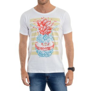CAMISETA RED FEATHER PINEAPPLE MASCULINA