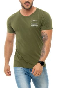 CAMISETA RED FEATHER RESILIÊNCIA MASCULINA VERDE