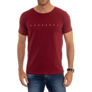 CAMISETA RED FEATHER CABERNET MASCULINA