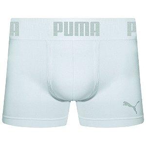 Cueca Boxer Puma sem costura masculina branca