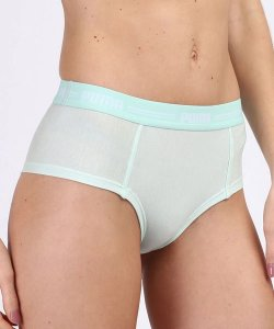 CALCINHA PUMA MINI BOXER MODAL STRETCH VERDE CLARO