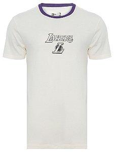 CamiseTa New Era Lakers reborn heritage od loslak masculina