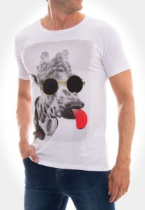 CAMISETA RED FEATHER CRAZY GIRAFA