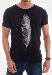 CAMISETA RED FEATHER WHITE FEATHER