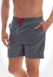 SHORT RED FEATHER SWIM MESCLA MARINHO MASCULINO
