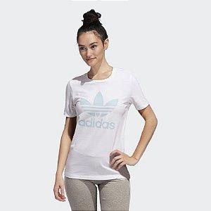 Camiseta Adidas Originals TREFOIL BRANCA
