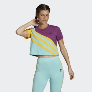 Camiseta Adidas Originals TREFOIL PLUS RETRÔ