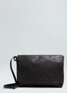 Bolsa Osklen Feminina Leather Crossbody E-Basics Bag