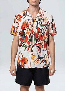 Camisa Osklen Garden Manga Curta
