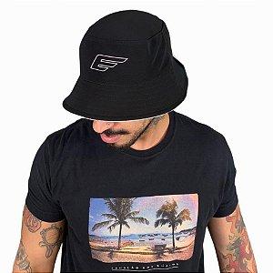 Chapéu Ellus dupla face Bucket Hat Printed masculino