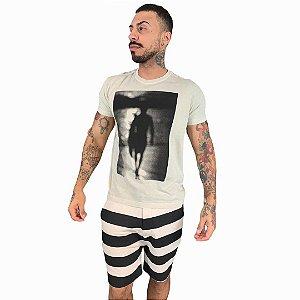 Camiseta Osklen Stone Surfer Silhouette masculina