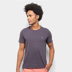 Camiseta Ellus Cotton Vintage Basic Raw Edge Classic
