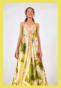 Vestido Farm Cropped Banana Doce