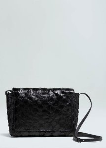 Bolsa Osklen Pirarucu Flap Shoulder Bag