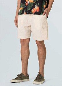 Bermuda Osklen Cargo Cotton Linen New